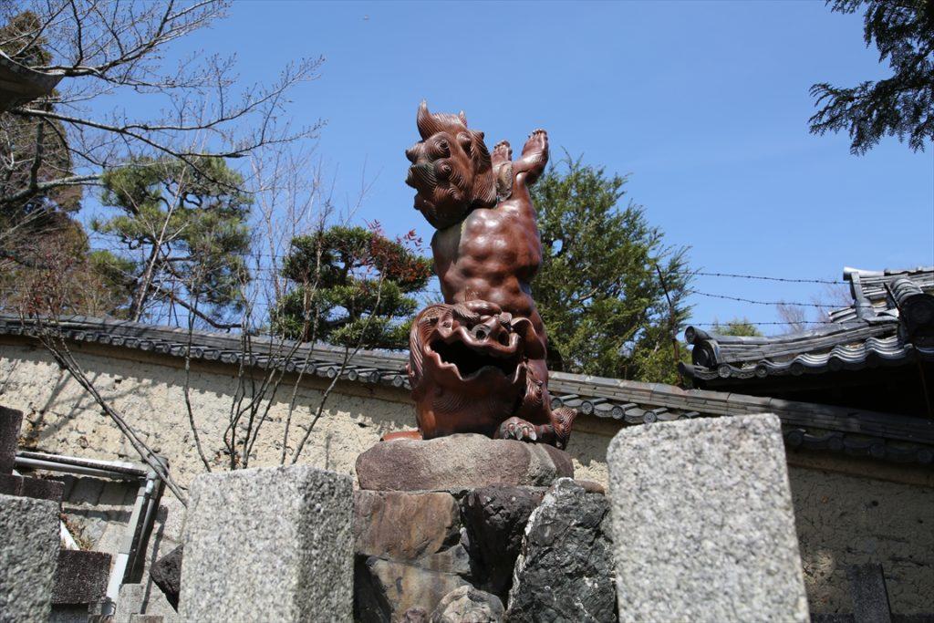 宗忠神社 狛犬