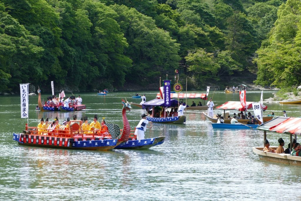 車折神社 三船祭