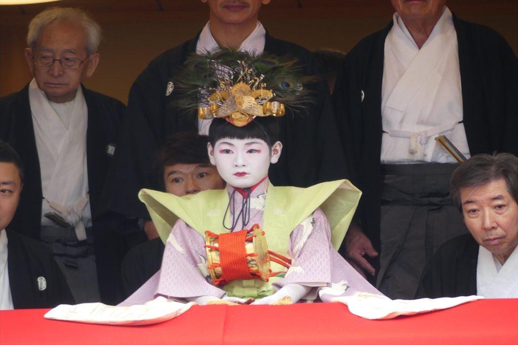 祇園祭 稚児舞