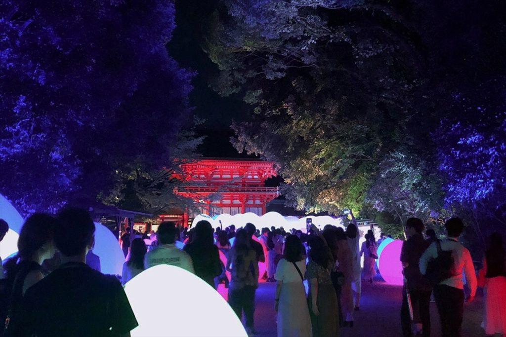下鴨神社 光の祭