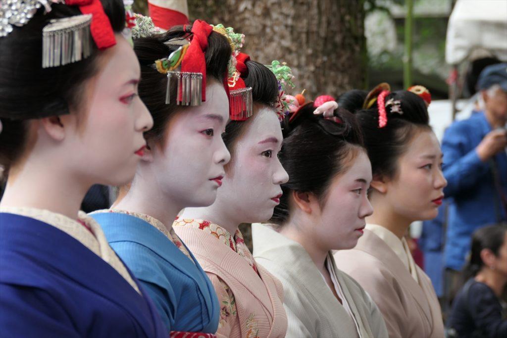 安井金毘羅宮 くし祭