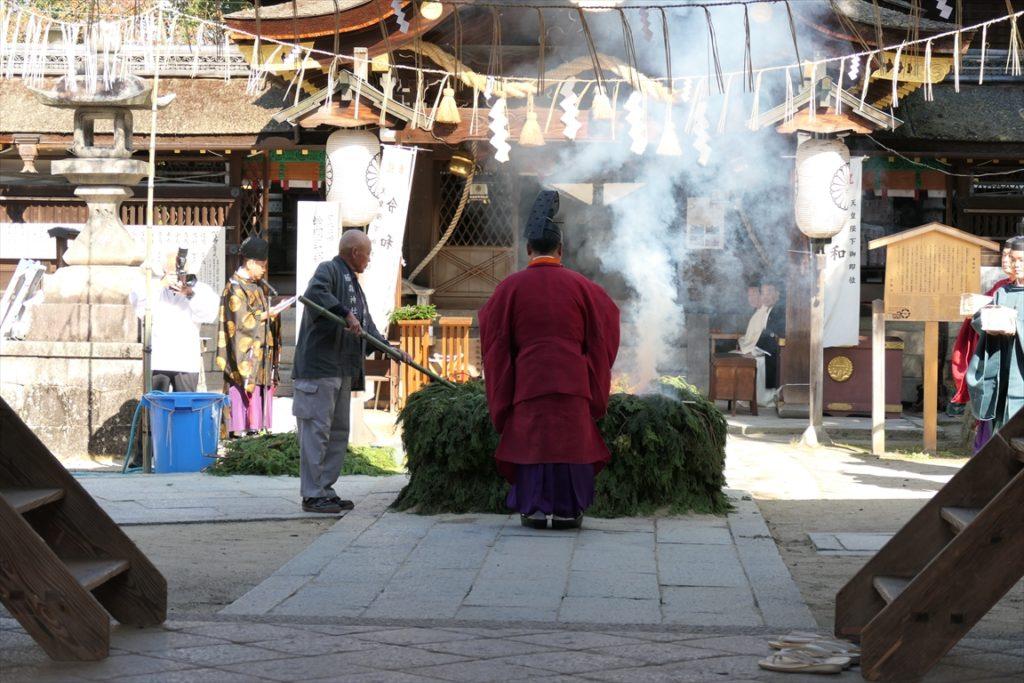 藤森神社 火焚祭