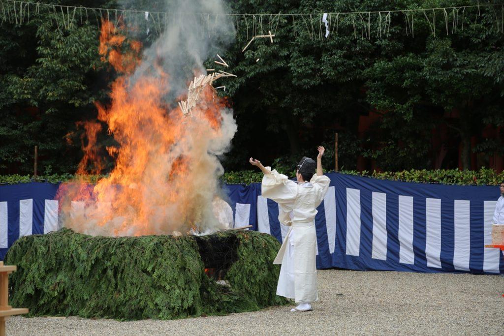 伏見稲荷 火焚祭
