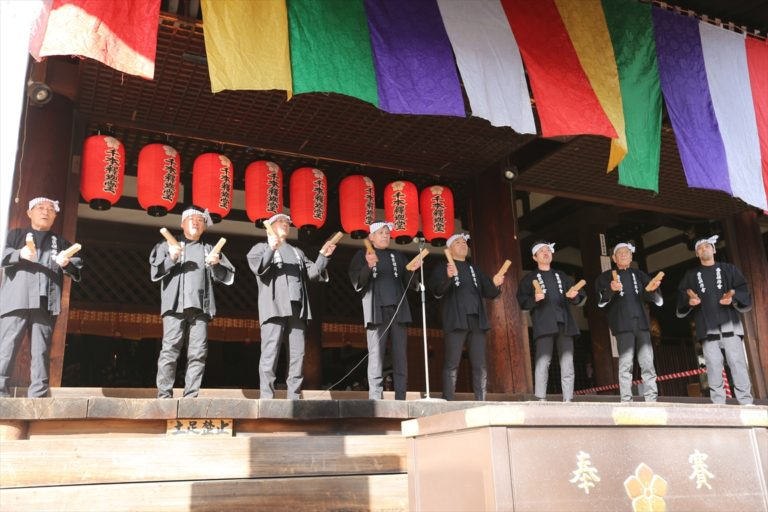 千本釈迦堂 節分祭