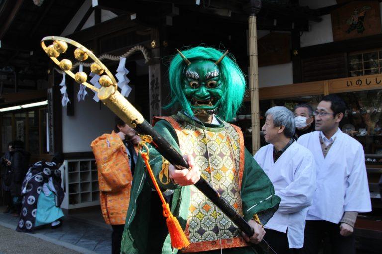 護王神社 節分祭
