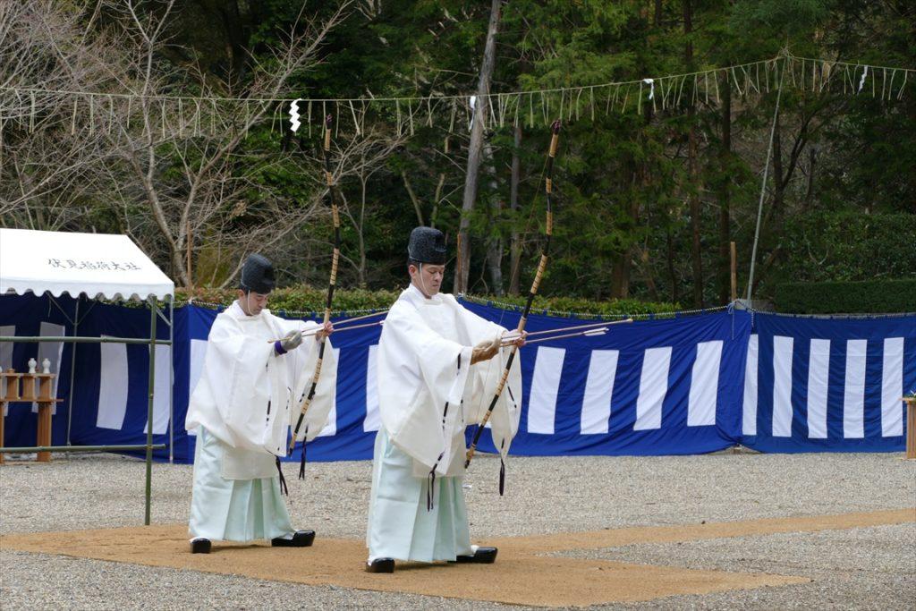 伏見稲荷 奉射祭