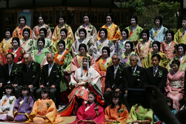 上賀茂神社 斎王代御禊の儀