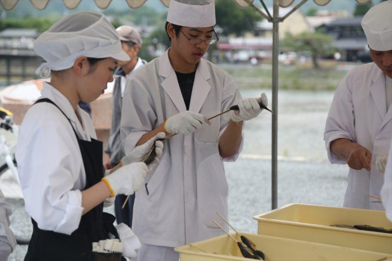 嵐山 若鮎祭