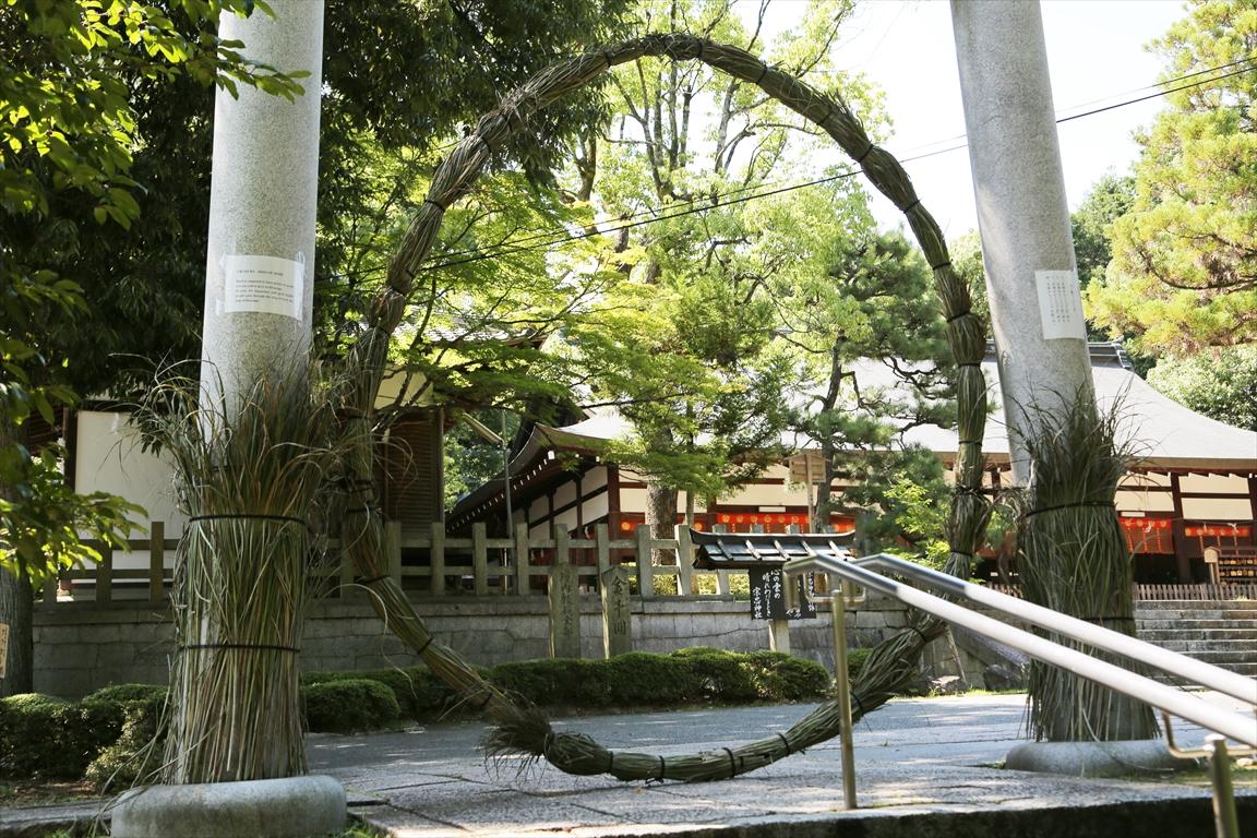 宗忠神社 茅の輪