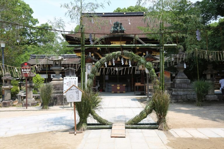 藤森神社 茅の輪