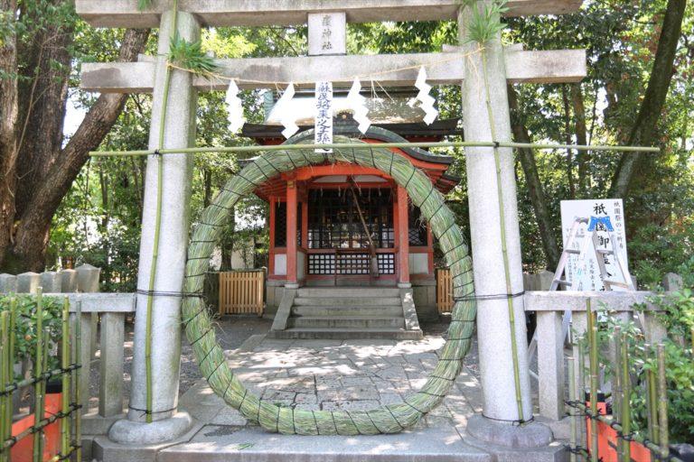 疫神社 茅の輪