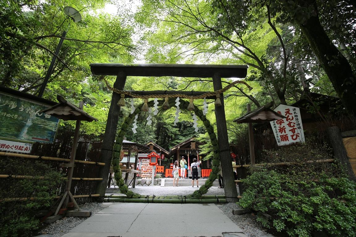 野宮神社 茅の輪