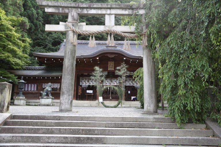 大石神社 茅の輪