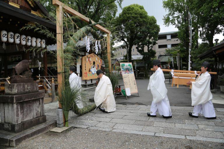 護王神社 茅の輪